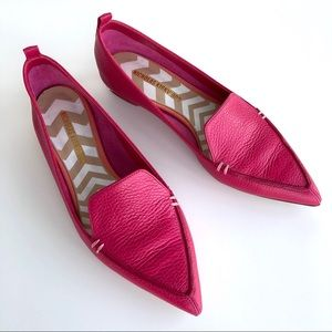 Nicholas Kirkwood Beya Leather Loafers in Fuchsia